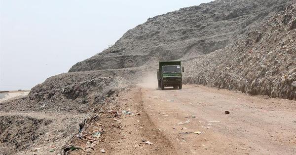 'Monte Everest' de lixo da Índia será mais alto que o Taj Mahal até 2020