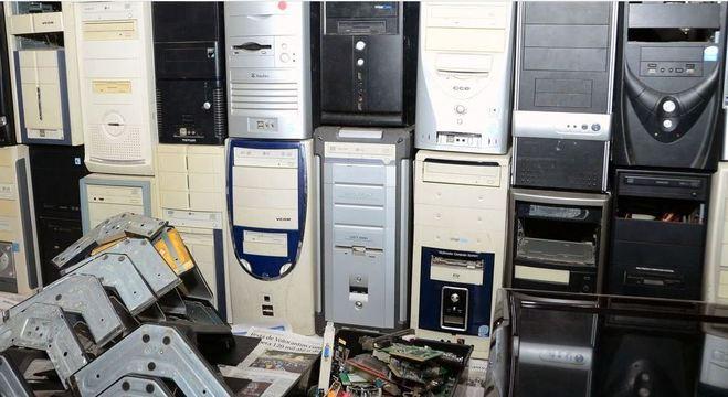 Estação Brás da CPTM em São Paulo recebe lixo eletrônico até o dia 30