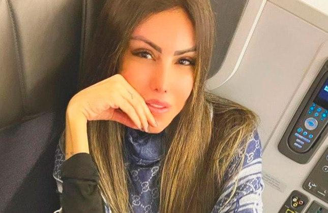 Liziane Gutierrez (modelo e influenciadora digital / 35 anos): Ela não compartilha fotos relacionadas ao futebol.