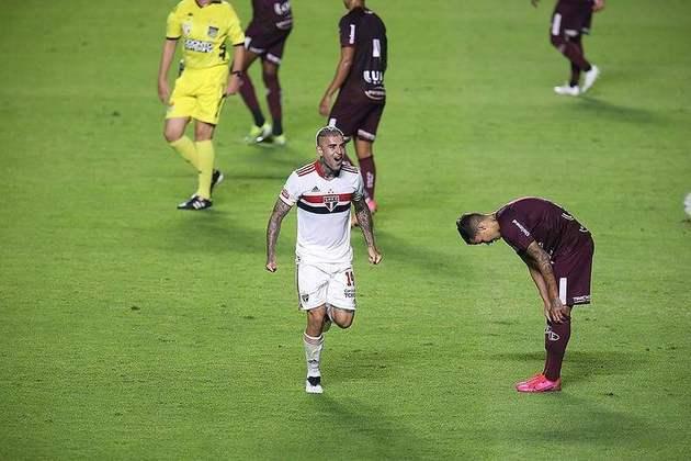 Liziero - 1 gol: marcou na vitória por 4 a 2 sobre a Ferroviária, nas quartas de final do Campeonato Paulista.