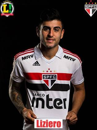 Liziero - 6,5 - Iniciou a jogada do primeiro gol e teve desempenho regular, cumprindo o que era esperado e dentro pelo proposto pela equipe na partida.