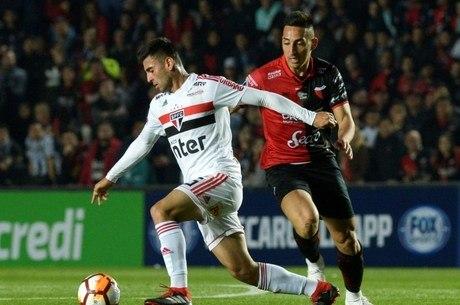 Liziero marcou seu primeiro gol pelo São Paulo