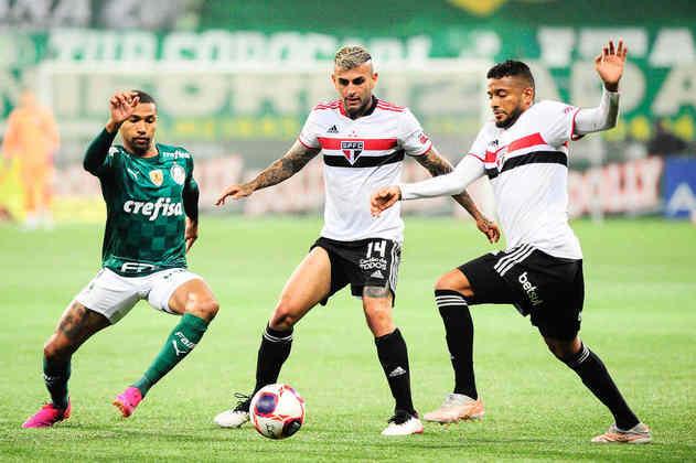 Liziero - o volante de 23 anos tem contrato com o São Paulo até dezembro de 2024.