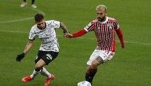 Corinthians e São Paulo empatam e tabu em Itaquera chega a 15 jogos