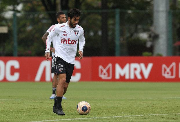 LIZIERO - Volante de 22 anos é um dos reservas que Fernando Diniz mais leva em conta, tanto que entrou no segundo tempo do jogo da última quinta, contra o Red Bull Bragantino. Soma oito partidas em 2020, mas só foi titular contra o Botafogo-SP. No total, são 79 jogos e três gols.