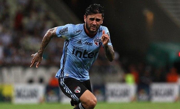 Liziero - Voltando de lesão, o volante de 23 anos tem contrato com o São Paulo até janeiro de 2024.