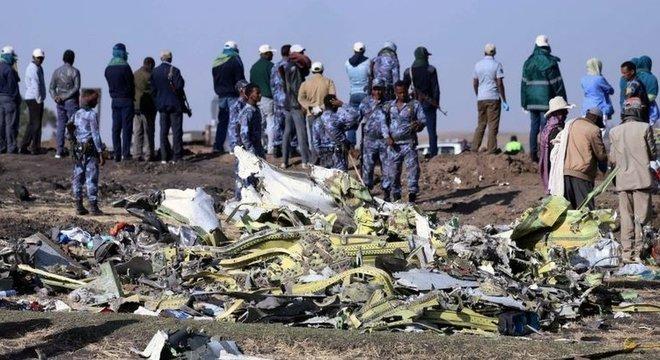 157 pessoas morreram no voo ET 302 da Ethiopian Airlines no último domingo