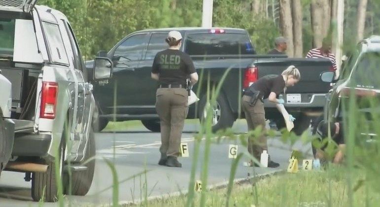 Alex Murdaugh foi baleado por ex-cliente em uma estrada da Carolina do Sul, nos EUA