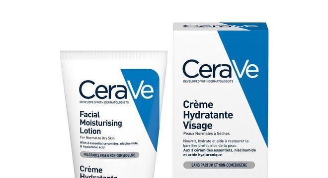 Loção facial hidratante, CeraVe