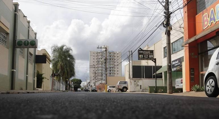 Primeiro dia de lockdown em Araraquara (SP)