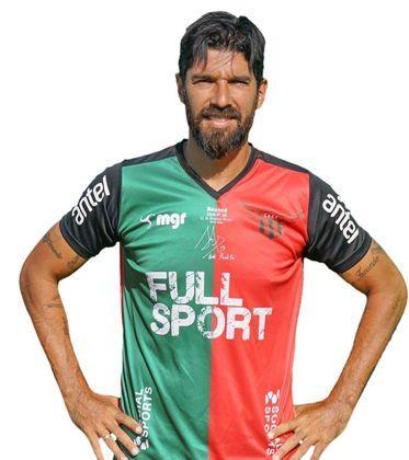 Sebastián Abreu, mais conhecido como 'El Loco Abreu', é o 8º colocado dessa lista de artilheiros em atividade, com 409 gols marcados. Abreu é também o mais velho da lista, com 44 anos