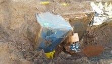 Brumadinho: Bombeiros encontram locomotiva levada por rejeito