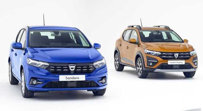 Com novo visual e nova plataforma, Sandero e Stepway em versão definitiva divulgada pela Dacia