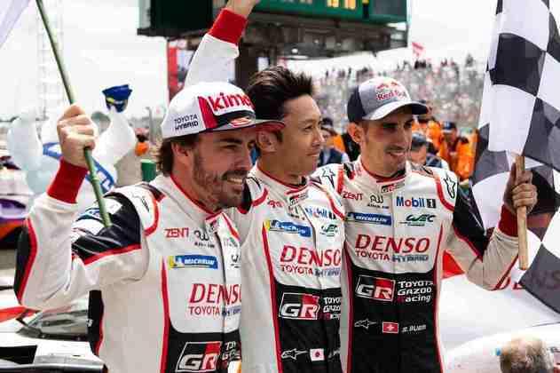 Logo na primeira 24 Horas de Le Mans, venceu