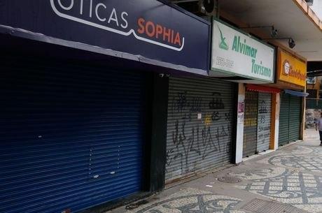 Lojistas de BH fecham as portas por causa da pandemia