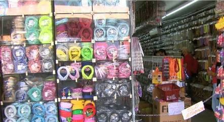 Loja de bijuterias fica no Centro de BH