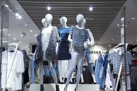 Vendas de roupas impactaram resultado do mês