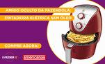 Peão:BielAmigo Secreto sorteado:FernandinhoGaranta já a sua Fritadeira Elétrica Sem Óleona Americanas!