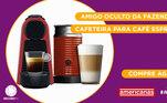 Peão:JojoAmigo Secreto sorteado:JulianoGaranta já a sua Cafeteira para Café Espressona Americanas!