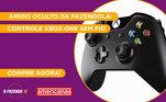Peão:VickAmigo Secreto sorteado:CartoloucoGaranta já o seu Controle Xbox One sem fiona Americanas!