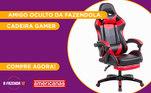 Peão:StefaniAmigo Secreto sorteado:JPGaranta já a sua Cadeira Gamerna Americanas!