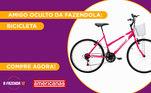 Peão:LuizaAmigo Secreto sorteado:MateusGaranta já a sua Bicicletana Americanas!