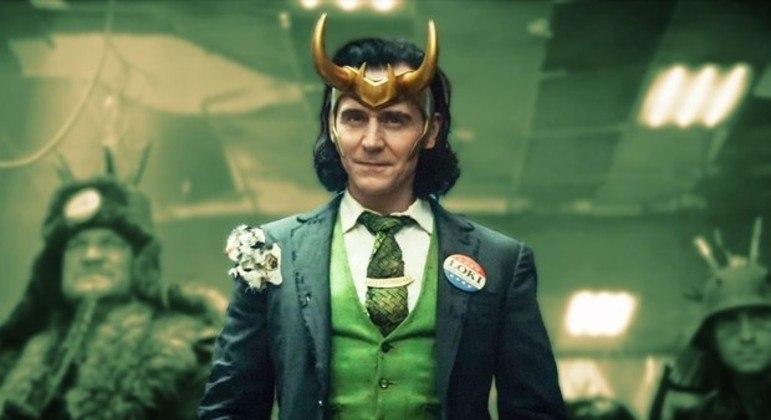 Tom Hiddleston como Loki na série de TV