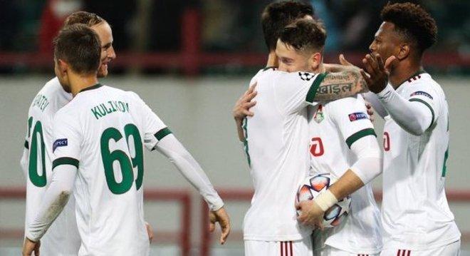A alegria da Lokomotiv, em Moscou