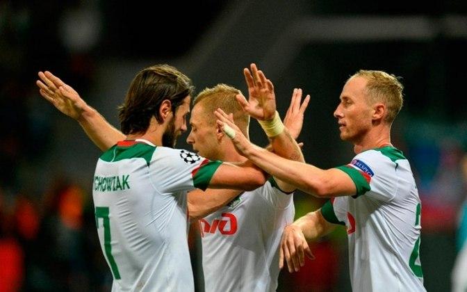 LOKOMOTIV MOSCOU garantiu sua vaga na Champions League graças ao vice-campeonato russo, de acordo com a regra da Uefa.