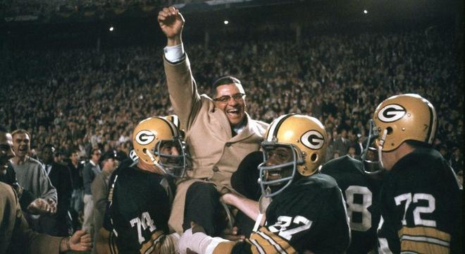 Lombardi e a festa dos Packers no primeiro Superbowl