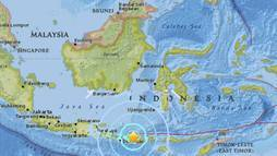Novo terremoto de magnitude 6,3 sacode ilha indonésia de Lombok ()