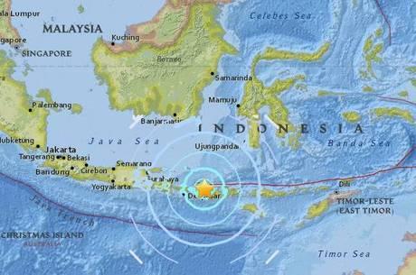 Lombok, na Indonésia, é atingida por terremoto novamente