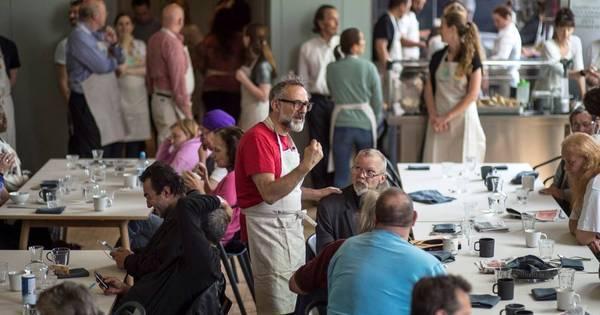 Em Londres, refeitório social oferece pratos criados por chefs premiados