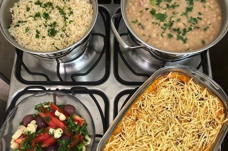 No 'Look do Fogão', a comida é fotografada direto das panelas