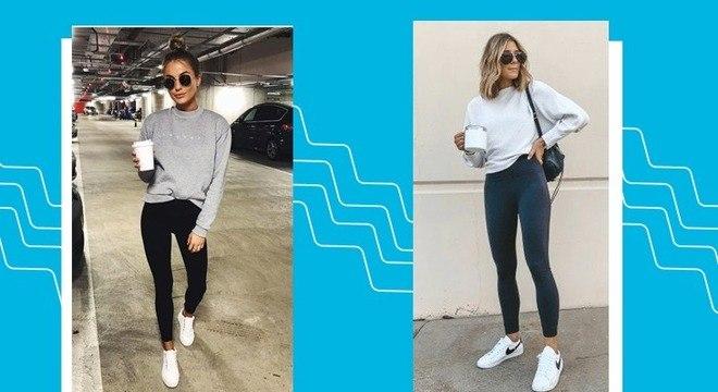 Looks com calça legging: aprenda a usar essa peça fora da academia