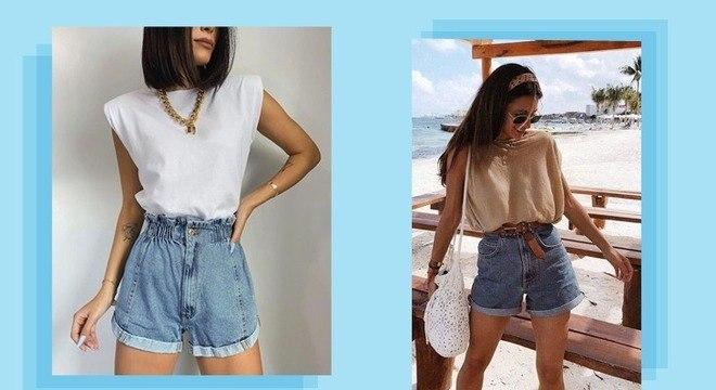 Looks com shorts jeans: 5 maneiras de combinar essa peça