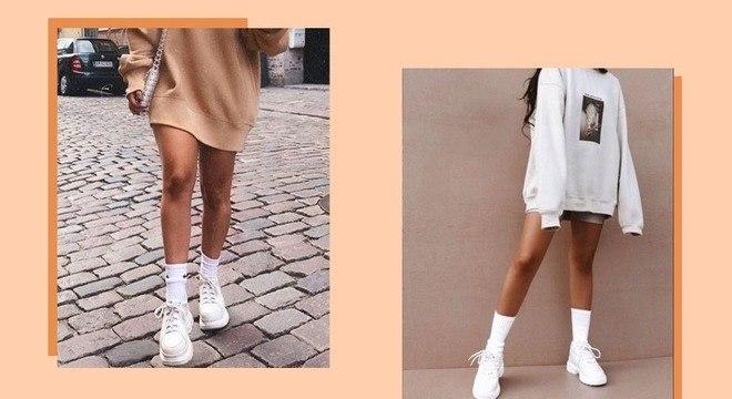 Looks com tênis branco: estilo e conforto em qualquer ocasião