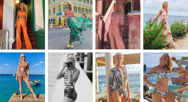 15273a533ded4 Looks da Ana Hickmann em Curaçao (Fotos   ahickmann Instagram Reprodução)