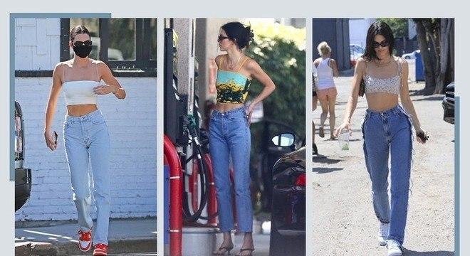 Looks de Kendall Jenner: saiba como copiar o estilo casual da modelo
