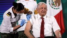 Presidente do México recebe segunda dose da vacina de Oxford