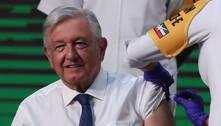 Presidente do México recebe vacina de Oxford em público