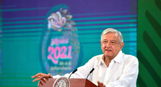 Presidente do México minimiza impacto da pandemia no país