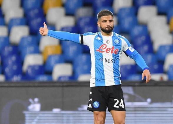 Lorenzo Insigne - 30 anos - Atacante - Clube: Napoli - Contrato até: 30/06/2022