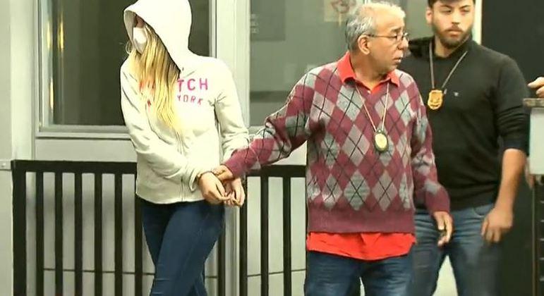 Lorraine Cutier Bauer Romeiro, de 19 anos, foi presa por suspeita de tráfico de drogas na Cracolândia