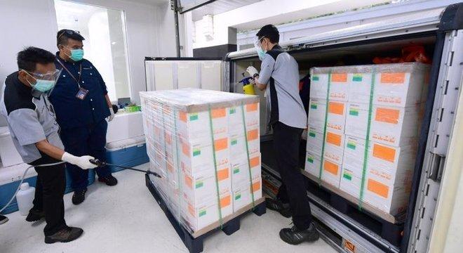A Indonésia vai receber 3 milhões de doses da CoronaVac até janeiro