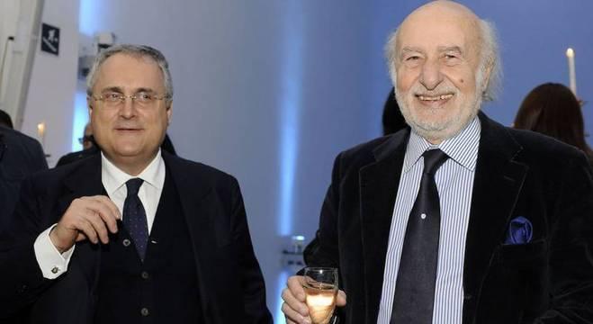 Claudio Lotito e Gian Michele Gentile