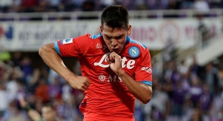 Hirving Lozano, do Napoli, o craque do domingo no Calcio
