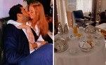 Pedro Scooby e Cintia Dicker escolheram um hotel em Lisboa, Portugal. A lua de mel aconteceu em um dos locais mais caros, com diária a partir de R$ 3,3 mil