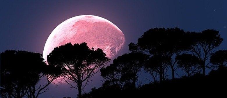 Lua rosa é a lua cheia no começo da primavera no hemisfério norte