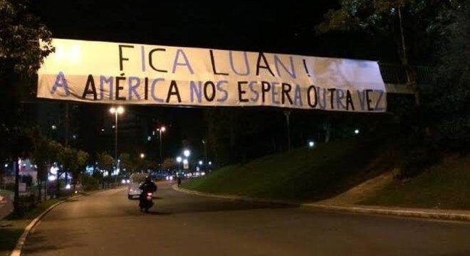 Luan estava acostumado a outro tipo de faixa, em Porto Alegre